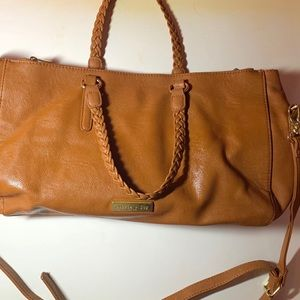 Olivia Joy Crossbody Bag- Tan
